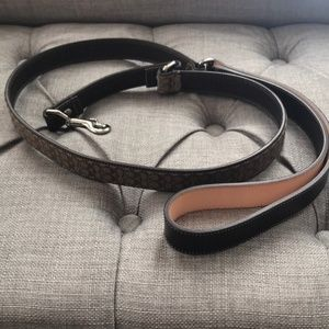 Coach Pet Leash